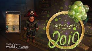2019 Children 39 s Week Kul Tiran Orphan Liam from Orphan Matron Westerson