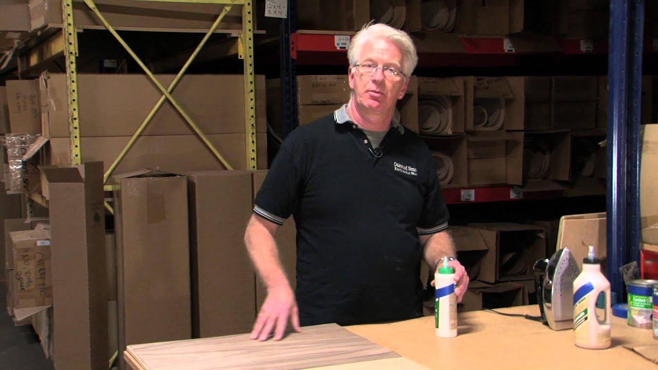 Iron On Veneer Pva Glue Method