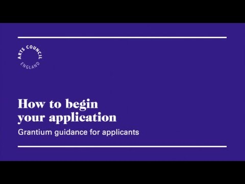 How to Begin Your Application