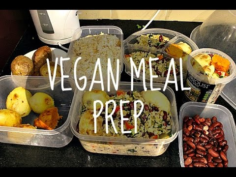MEAL PREP | Cheap Lazy Vegan