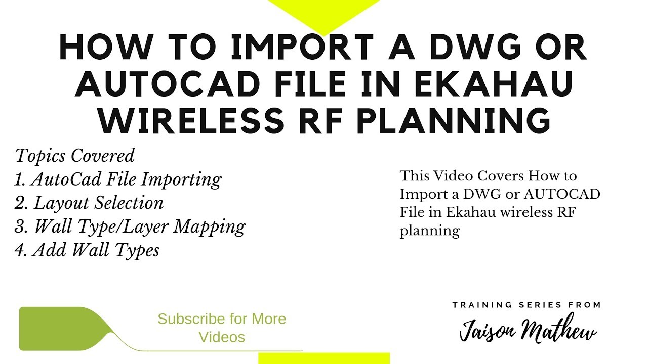 Cisco Switch Wiring Diagram Autocad Automotive File Wireless Training How To Import A Dwg Or In Rh Youtube Com Examples