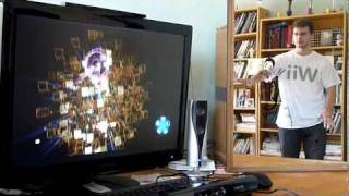 Test Child of Eden - Kinect - [HD]