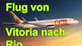 Flug von Vitoria (ES) nach Rio de Janeiro