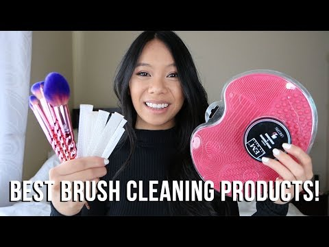 BEST Products for Cleaning Your Makeup Brushes!