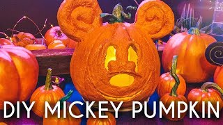 Mickey DIY Pumpkin