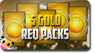 "Halo 5: Guardians - 5 Gold ""Requisition Pack"" Opening (Halo 5 Guardians Multiplayer Gameplay)"