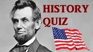 American History QUIZ - Very Hard Test!