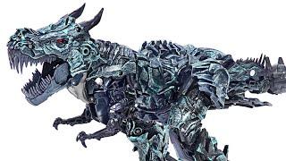 Transformers studio series clase líder Grimlock! ¡Transfórmate en un dinosaurio!