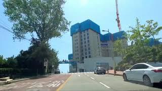 ❤Busan CityKoreaDrive in Gwang…