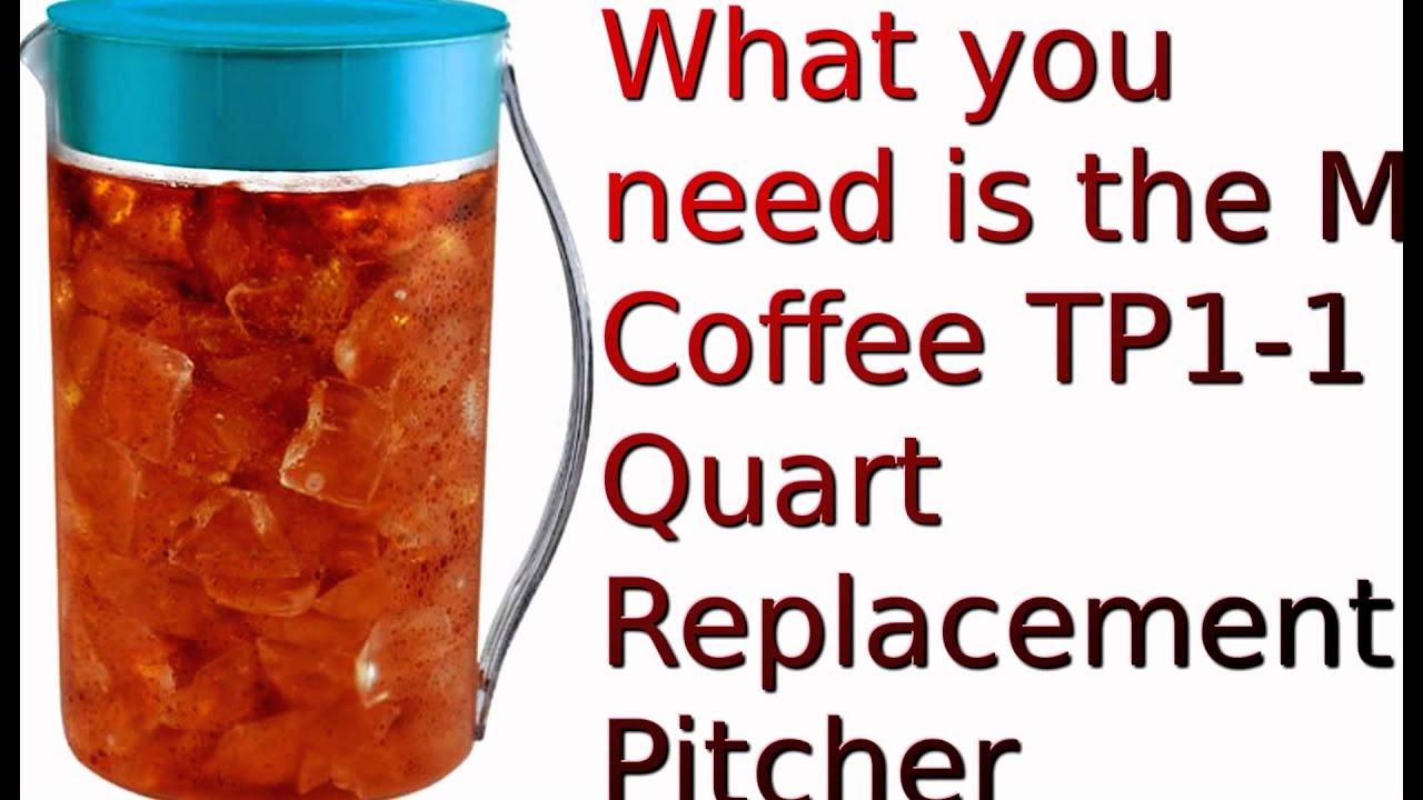 Mr Coffee Tm1 2 Quart Replacement Pitcher
