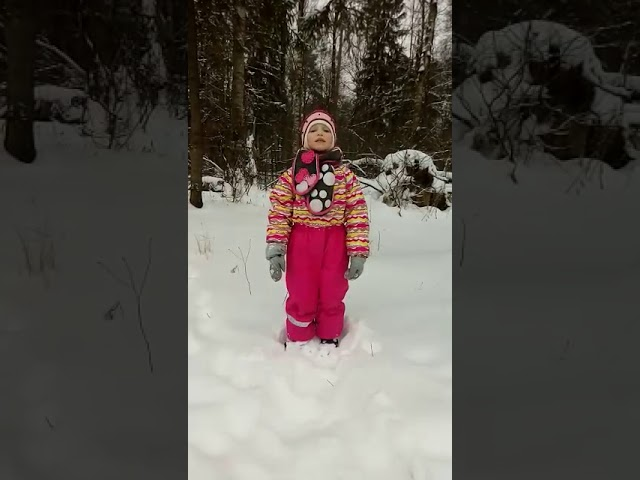 Изображение предпросмотра прочтения – МарияБарашенкова читает произведение «Снег да снег» А.А.Блока
