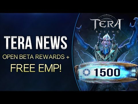 Tera News | Open Beta Stress Test Rewards + FREE EMP