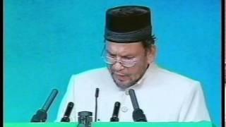 Jalsa UK 2002: First Session Tilawat, Nazm, Urdu Speech: Progress of Ahmadiyyat in Indonesia