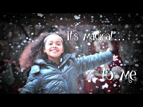 Tiana - Snowflakes Magical Christmas Song (Official Music Video)  Toys AndMe