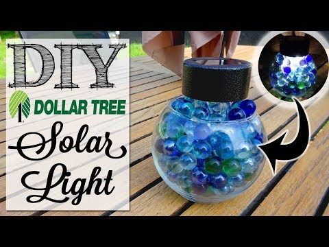 DIY Dollar Tree Solar Light