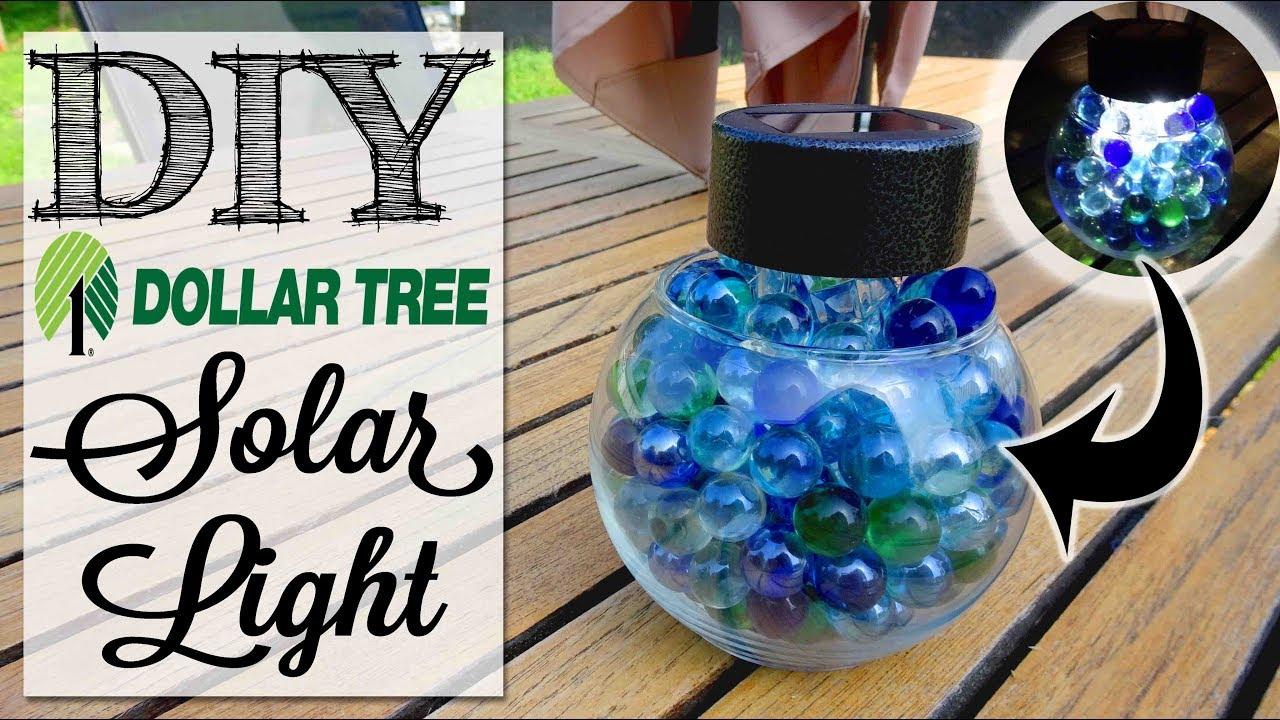 Diy Dollar Tree Solar Light You