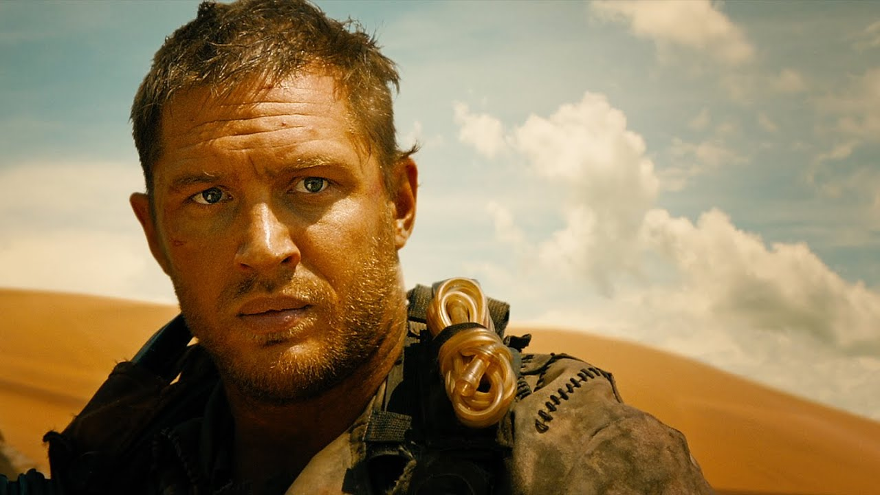 Tom Hardy stars as the eponymous vigilante in Mad Max: Fury Road
