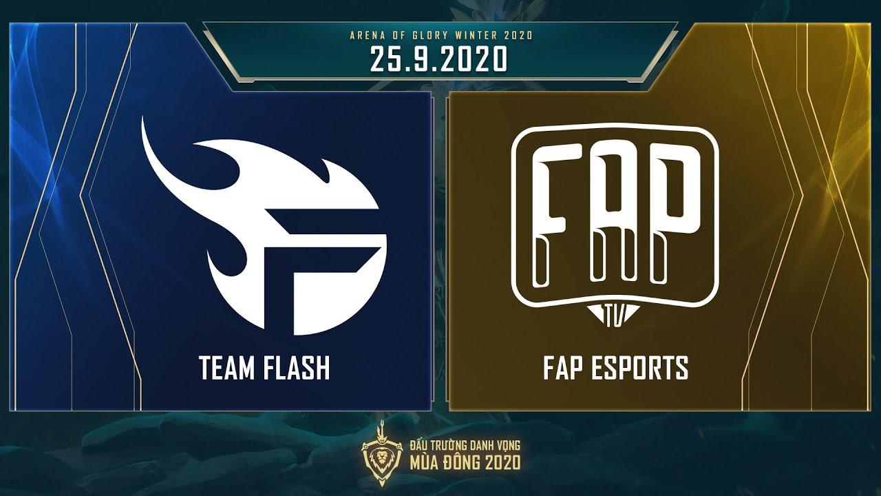 Team Flash vs FAP Esports   FL vs FAP - Vòng 8 ngày 2 [25.09.2020] - ĐTDV mùa Đông 2020