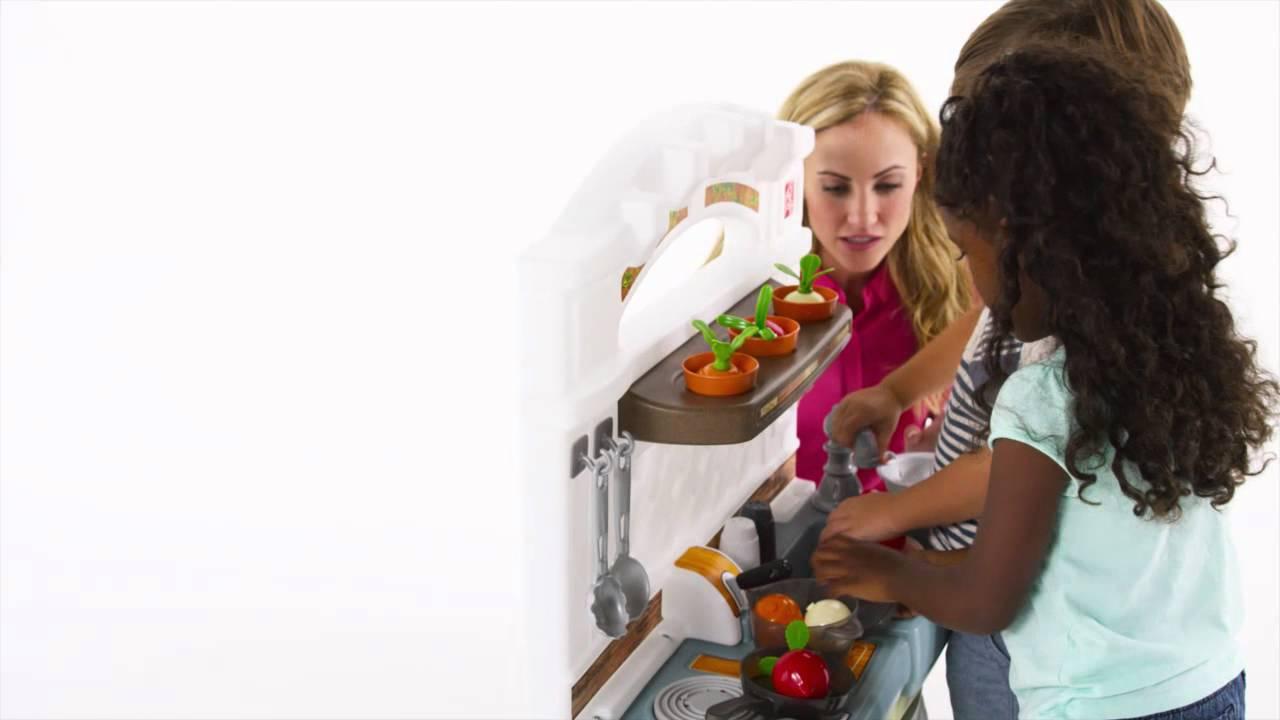 Step2 Garden Fresh Kitchen - YouTube