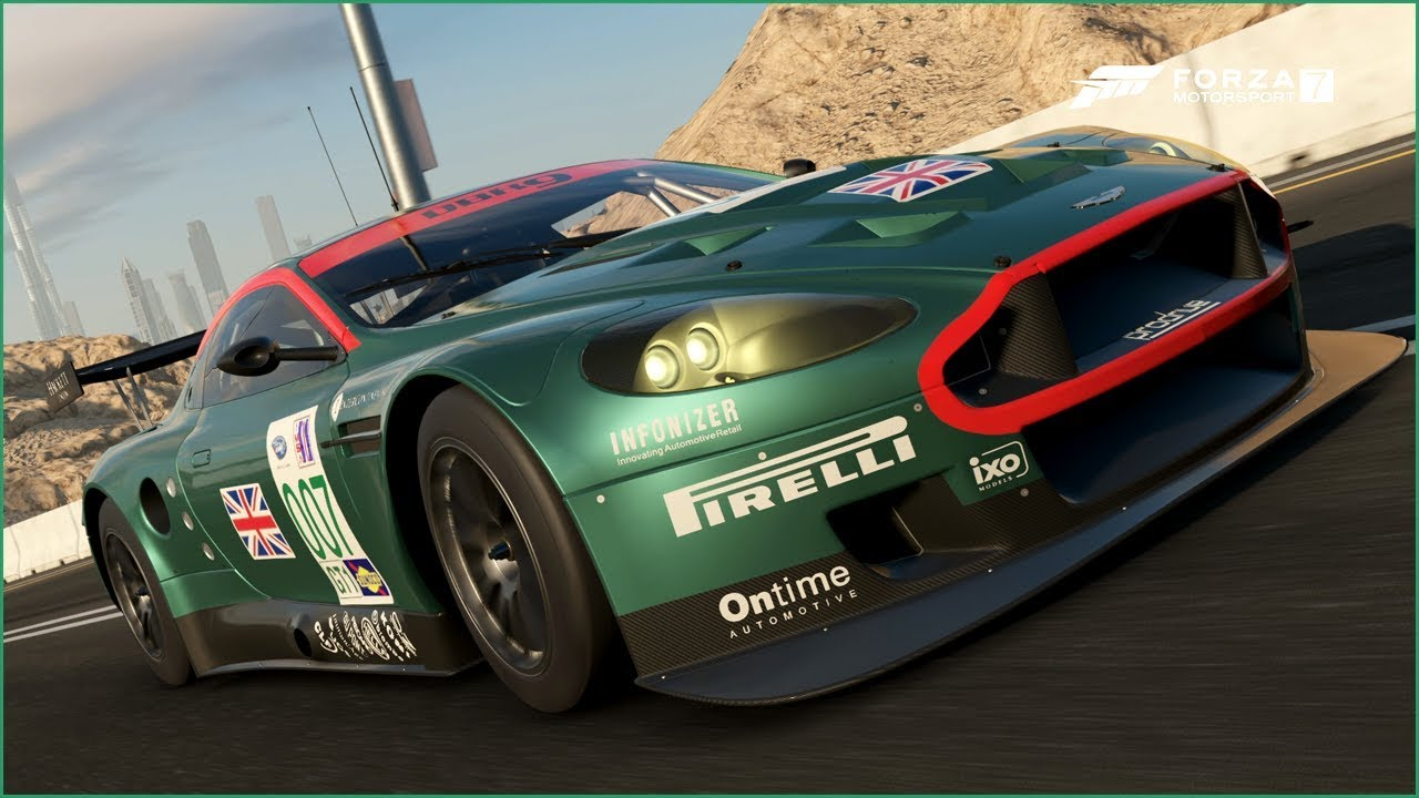 The DBR9 from Forza 7 imported in Forza Horizon 4