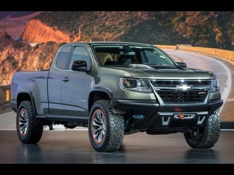 2015 Chevy Colorado ZR2 Diesel Concept, Z71, & LT Revealed Los Angeles Auto Show - YouTube
