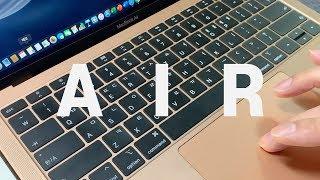 사서 써보니... 현직 프로 디자이너의 2019 맥북 에어 2주간 사용 후기 Macbook Air 2019