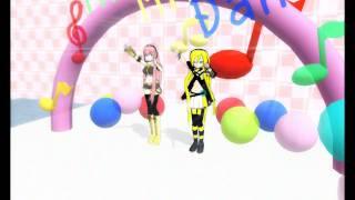 LILY x Megurine Luka 【Po Pi Po】【MMD】 Download Links!!