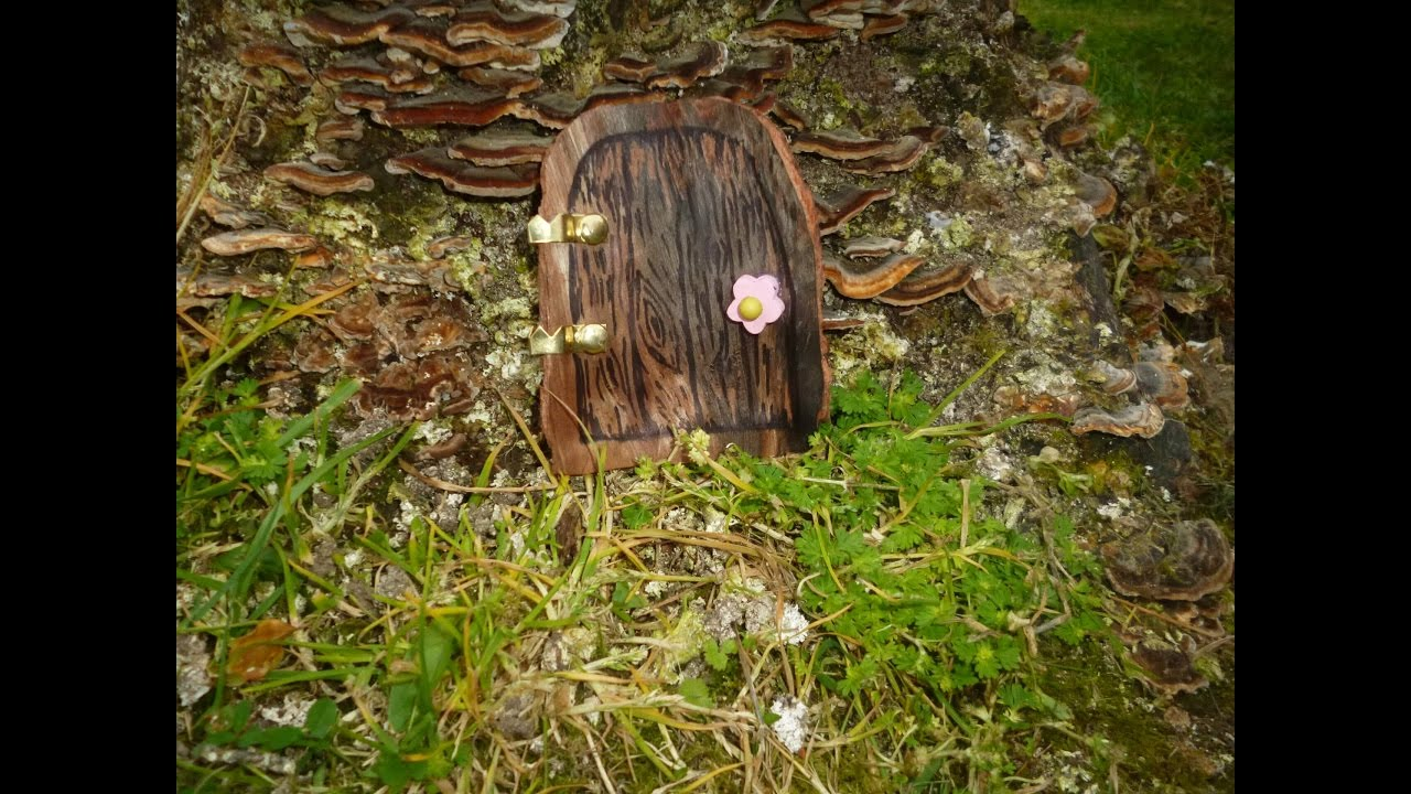 How to make a fairy door youtube for Fairy doors to make