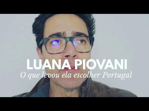 Luana Piovani fala sobre morar em Portugal
