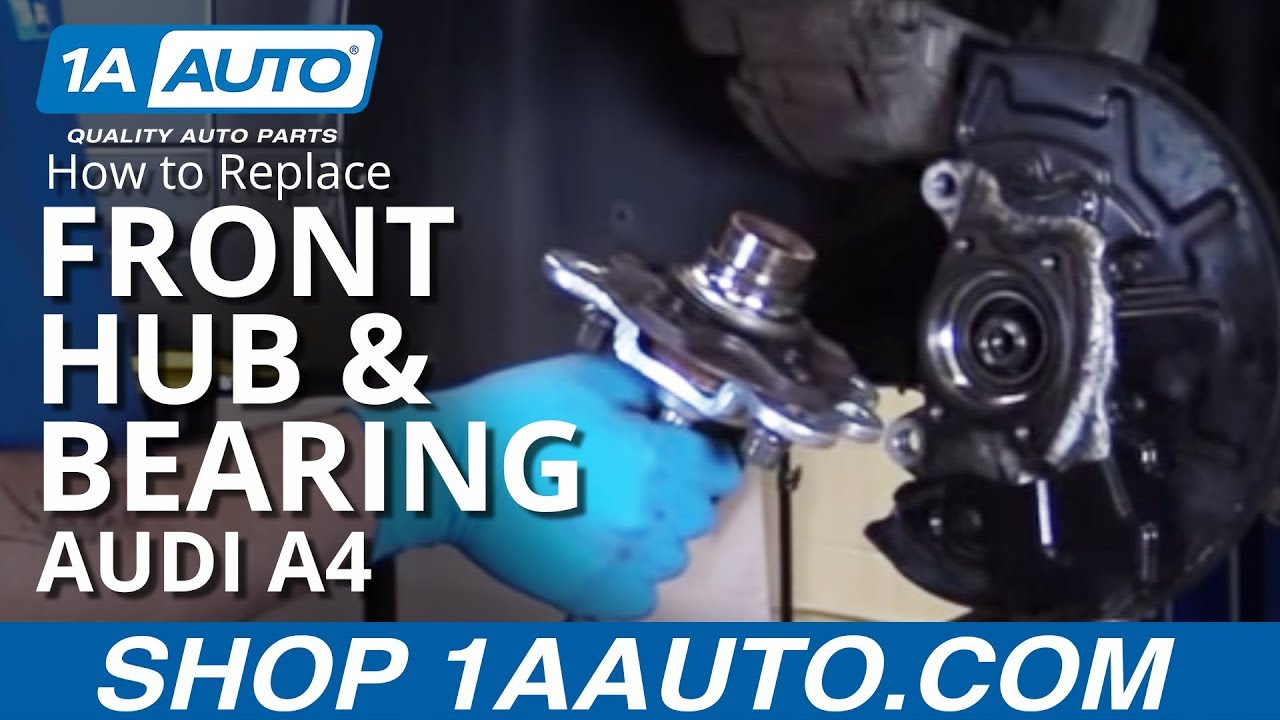 how to change rear wheel bearing 2006 jetta