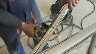 Изготовление и монтаж ограждения из нержавеющей стали(, 2014-05-26T16:12:13.000Z)