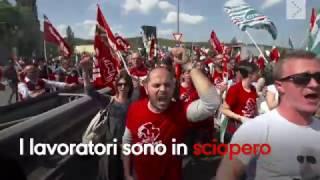 Sciopero all'outlet di Serravalle: la video-storia di Local Team