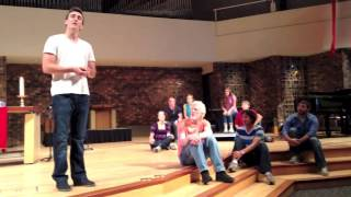 """Godspell, """"God Save The People"""" First United Methodist Church 2013"""