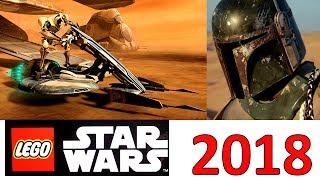 Lego Star Wars 2018 наборы новинки
