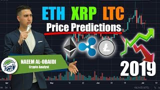 Top 3 Altcoins ETH XRP LTC 2019 Price Predictions