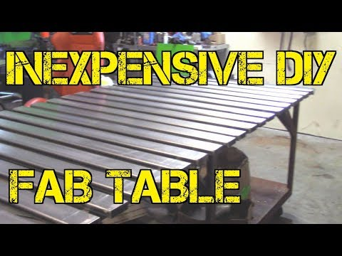 TFS: Inexpensive DIY Fab Table