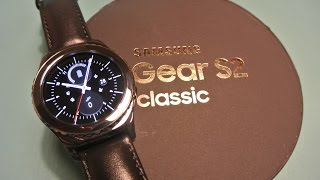Samsung Gear S2 Classic Unboxing and Setup!
