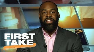 Donovan McNabb talks Vice President Mike Pence leaving 49ers-Colts game | First Take | ESPN