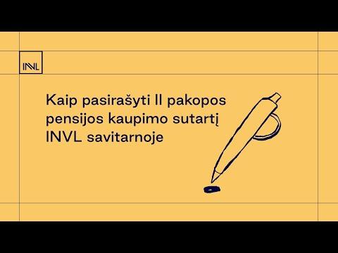 Kaip pasirašyti II
