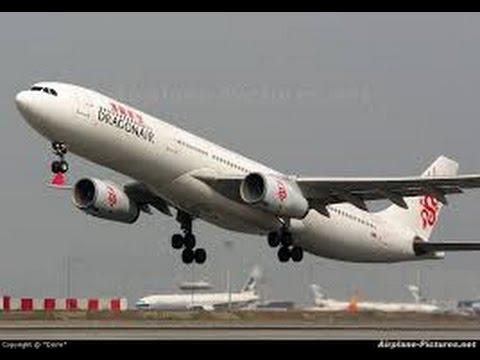 Dragonair (Cathay Dragon) Business Class - Hong Kong to Kathmandu (KA 104) - Airbus A330-300