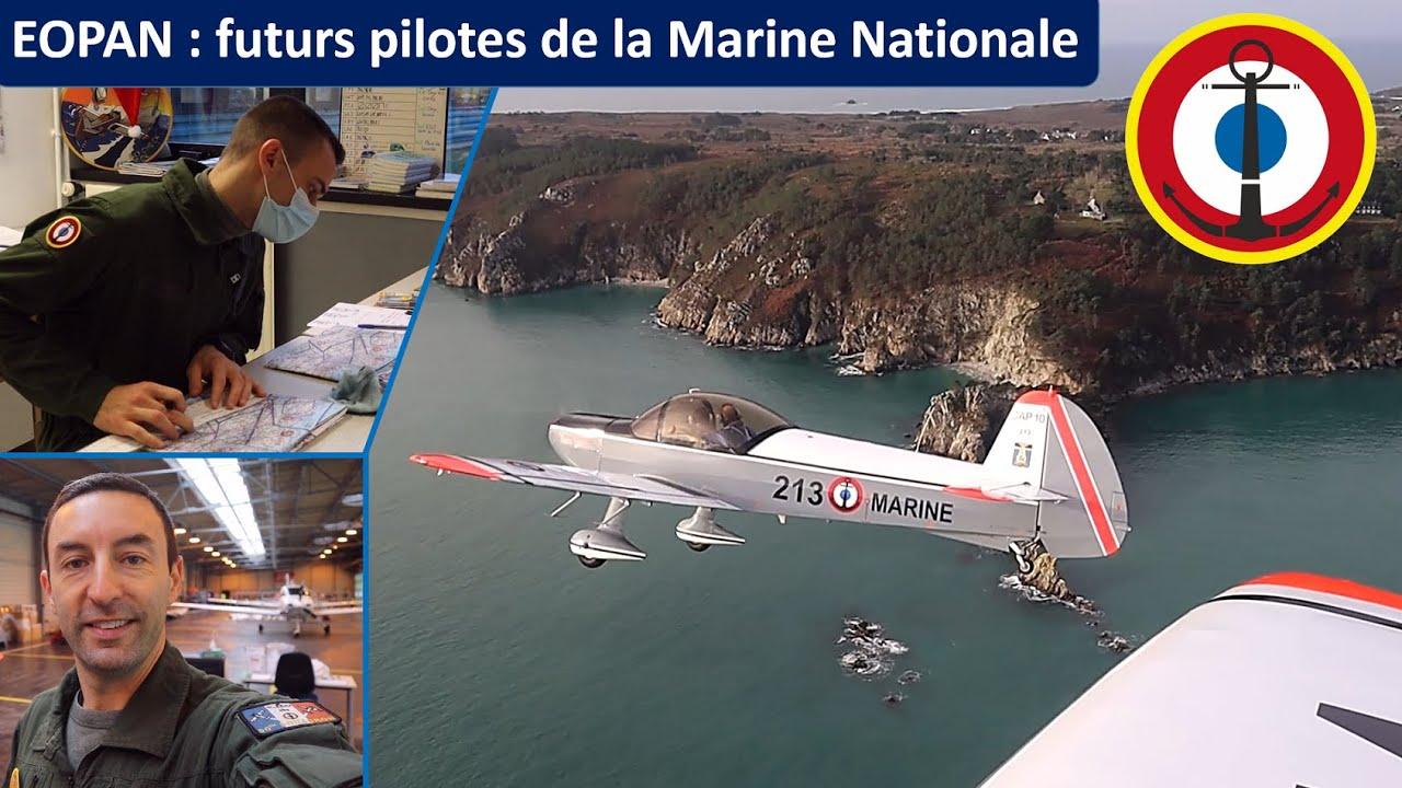 Chez les EOPAN, FUTURS PILOTES DE LA MARINE NATIONALE : visite à l'école d'initiation au pilotage