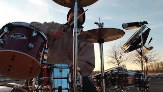 Burning Spear Live in Paris - Spear Burning - Drum Cover By Derek Almen