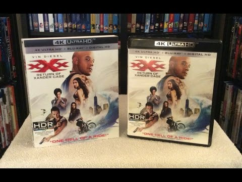 xXx: Return of Xander Cage 4K BLU RAY UNBOXING and Review - Vin Diesel streaming vf
