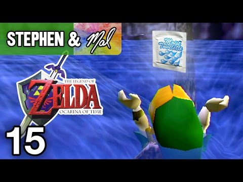 "Zelda: Ocarina of Time #15 - ""Wet-nap of Betrothal"""