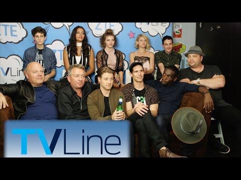 Gotham Season 3 Preview  | TVLine Studio Presented By ZTE | Comic-Con 2016