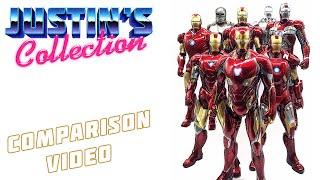 Hot Toys Iron Man MK50 (Mark L) Avengers Infinity War Comparison Video