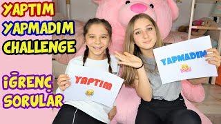 YAPTIM YAPMADIM CHALLENGE | İĞRENÇ SORULAR | REZİL OLDUK !! - Eğlenceli Çocuk Videosu