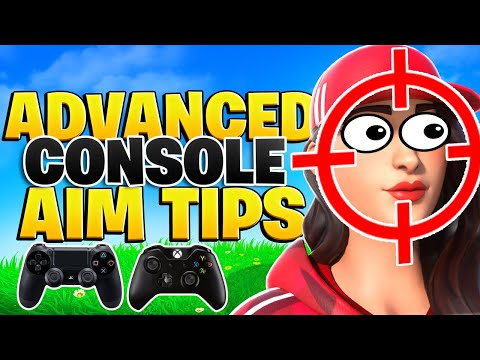 5 ADVANCED Tips To Have INSANE Aim On Console! (Fortnite Tips PS4 + Xbox)