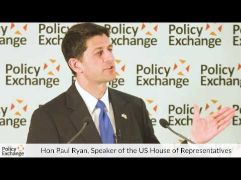 Hon Paul Ryan speaks at Policy Exchange - Question & Answer Session
