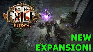 Path of Exile: Betrayal Expansion Announcement